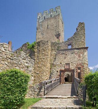 Burg Röttel, Burgtor