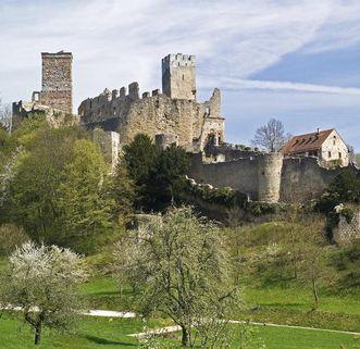 Ansicht von Burg Rötteln