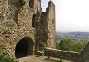 Portal zum neuen Bau der Burg Rötteln