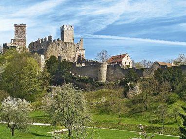 Burg Rötteln von außen