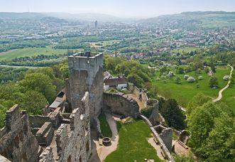Château-fort de Rothelin; l'image: Landesmedienzentrum für Baden-Württemberg, Arnim Weischer,