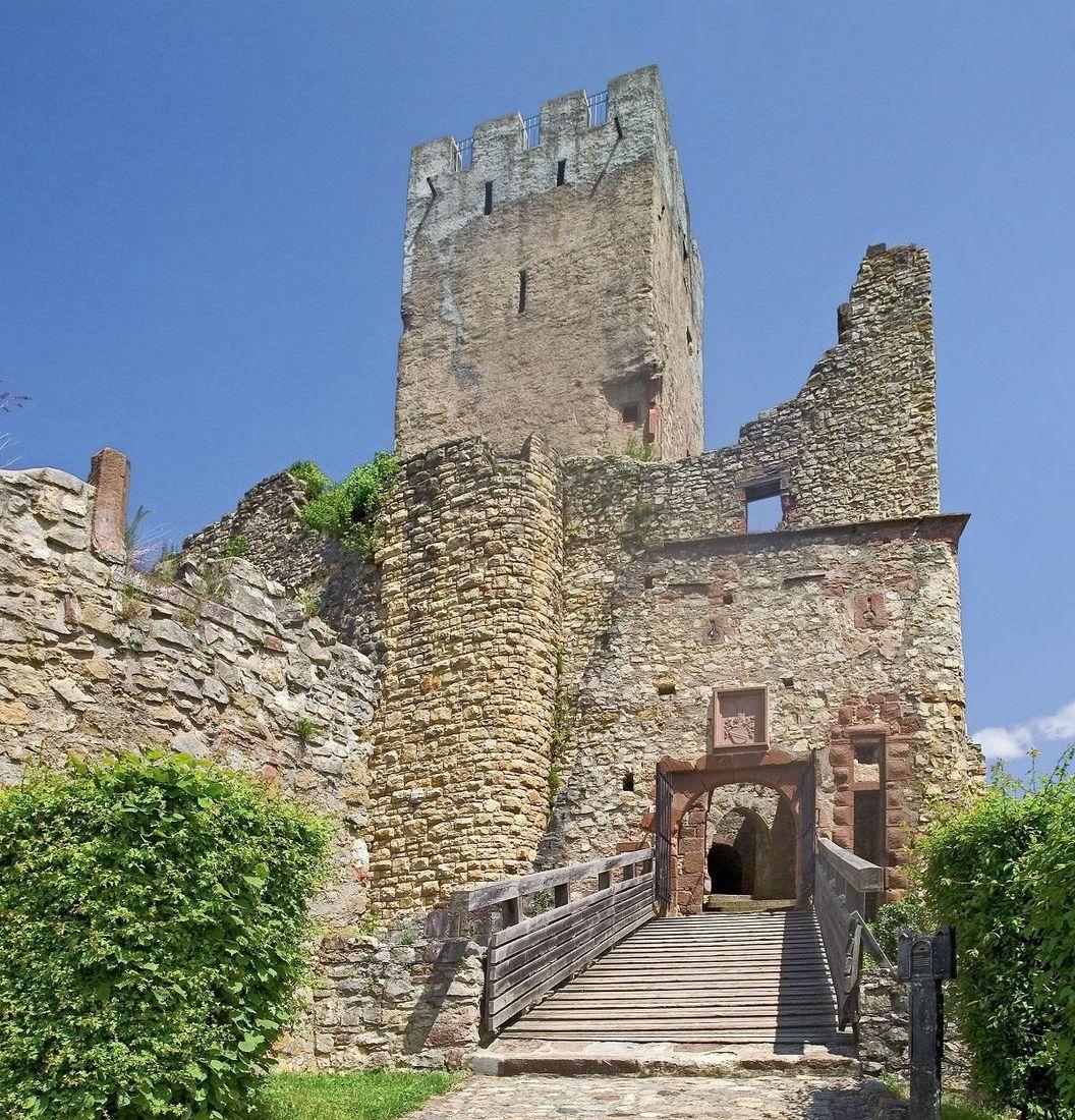 Rötteln Castle, exterior view