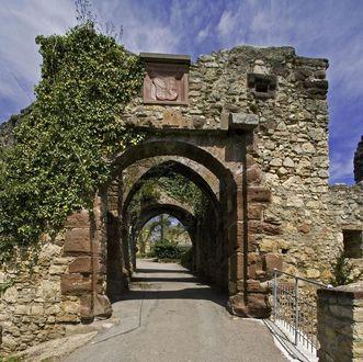 Unteres Burgtor von Burg Rötteln